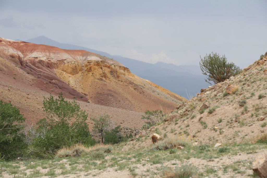 Кызыл-Чин, Марс, Чаган-Узун, петроглифы